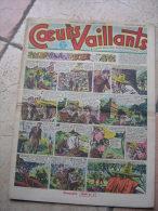 """COEURS VAILLANTS   N° 9  """" L´OMBRE DE L´IDOLE """"   -  MARS  1952 ( + CALVO ) - Magazines Et Périodiques"""