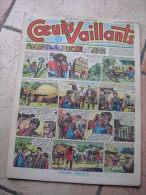 """COEURS VAILLANTS   N° 10  """" L´OMBRE DE L´IDOLE """"   -  MARS  1952 ( + CALVO ) - Magazines Et Périodiques"""