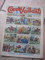 """COEURS VAILLANTS   N° 11  """" L´OMBRE DE L´IDOLE """"   -  MARS  1952 ( + CALVO ) - Magazines Et Périodiques"""