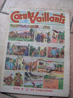 """COEURS VAILLANTS   N° 12  """" L´OMBRE DE L´IDOLE """"   -  MARS  1952 ( + CALVO ) - Magazines Et Périodiques"""