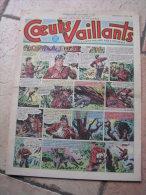 """COEURS VAILLANTS   N° 14  """" L´OMBRE DE L´IDOLE """"   -  AVRIL  1952 ( + CALVO ) - Magazines Et Périodiques"""