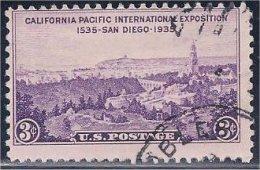 USA / États-Unis  1935  # 773  ( California Pacific Exposition ) - Stati Uniti