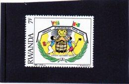 1985 Rwanda - Anna Della Gioventù - Rwanda
