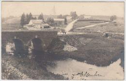 19801g PONT - PASSERELLE - CHAMPS De CULTURE - Elsenborn -1923 - Carte Photo - Bütgenbach