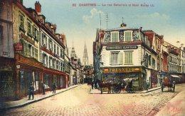 Chartres - La Rue Delacroix Et Noël Balby - Chartres