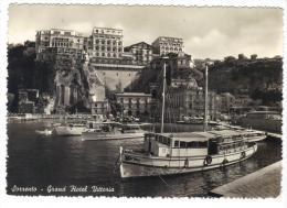 TZ1466 - SORRENTO  , Grand Hotel Vittoria . Viaggiata Nel 1955 - Napoli