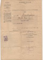 1926 - ARRETE Du SECRETAIRE GENERAL DES POSTES &TELEGRAPHES Pour NOMINATION à PARIS - Documents Historiques