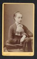 #photo J282 - CDV Jeune Femme Par A. LUMIERE à Lyon - Photographs