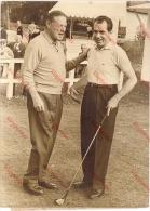 Photo Presse AFP Sports - Golf, Canada Cup 1963 à Saint-Nom-la-Bretèche, Richard Nixon Et Charles Bohlen - Sports