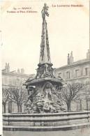 NANCY  - 54 -  Fontaine Et Place D'Alliance  -  021213 - - Nancy