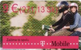 Slowakei T Mobile, Nominal 9 Euro - Slowakei