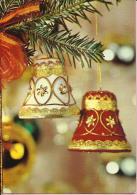 Happy New Year - Bells On Christmas Tree, 1971., Yugoslavia (Jugoreklam, Serija 93) - Anno Nuovo