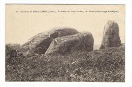 CREUSE  /  Environs  De  BOURGANEUF  /  LA  PIERRE  DES  NEUF  GRADINS , À  LA  MARTINÈCHE   ( Vestiges Druidiques ) - Unclassified
