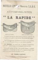 Nouvelle Lunette Pour Automobilistes/ La Rapide/ Vers 1905     AC7 - Cars