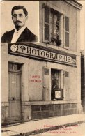 ROMORANTIN - Photographie E AUGER En Médaillon Rue Des Capucins Près La Passerelle - Romorantin