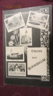 AK Międzychód (Birnbaum) In 5 Ansichten (Präparanden-Anstalt,Kreisständehaus,Kath/Ev. Kirche)  Vom 7.7.1939 Bz. Pos - Polen