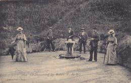 CPA 63 @ Chateauneuf Les Bains @ Source Lefort En 1910 @ - France