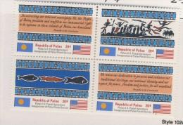 PALAU 1983 INDEPENDANCE  YVERT  N°1/4  NEUF MNH** - Palau