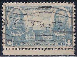 """USA / États-Unis  1936  #  788  ( Army -  Lee & """"Stonewall"""" Jackson ) - Oblitérés"""