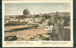 Jérusalem  -    Vue Générale Du Temple      Dab116 - Palestine