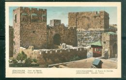 Jérusalem  -   Tour De David    Dab117 - Palestine