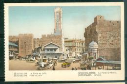 Jérusalem  -    La Porte De   Jaffa     Dab122 - Palestine