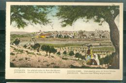 Jérusalem - Vue Générale  Prise Du Mont Des Oliviers     Dab124 - Palestine