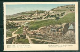 Jérusalem -  La Vallée De Josaphat     Dab126 - Palestine