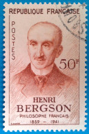 France 1959 : Centenaire De La Naissance Du Philosophe Henri Bergson N° 1225 Oblitéré - Gebruikt