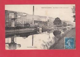 CPA - NEUVES MAISONS - Les Fours à Coke Et Le Canal - Cliché Nicolle , Chaligny - 1926 - Neuves Maisons
