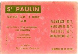 Buvard- St Paulin - Produits Pharmaceutiques