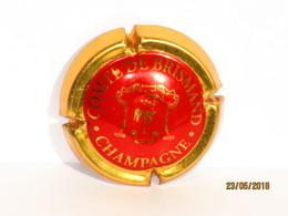 Capsules Ou Plaques De Muselet CHAMPAGNE COMTE  De BRISMAND - Champagne