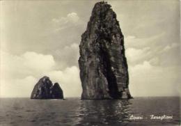 Lipari - Faraglioni - Formato Grande No Viaggiata - D - Messina