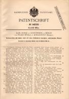 Original Patentschrift - K. Rosak Und F. Spicka In Konárovice I. Böhmen , 1902 , Hackmaschine , Agrar !!! - Maschinen