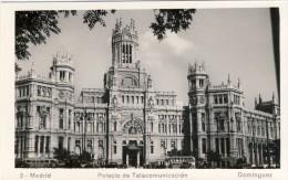 MADRID - Palacio De Telecomunicación - 2 Scans ESPAÑA - Madrid