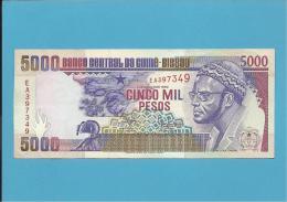 GUINEA-BISSAU - 5000 PESOS - 1.3.1990 - UNC - P 14a - PRESIDENTE AMILCAR CABRAL - Guinea-Bissau
