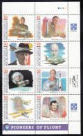 Micronesia MNH Scott #200 Block Of 8 Pioneers Of Flight - Micronésie