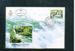 Bosnia And Herzegowina Serbian Post Office Banja Luka 2005 Naturschutz / Nature Protection FDC - Umweltschutz Und Klima