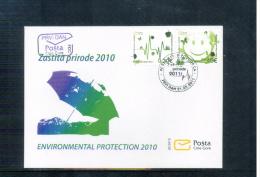 Montenegro 2011 Naturschutz / Nature Protection FDC - Protection De L'environnement & Climat