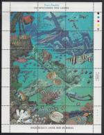 Micronesia MNH Scott #71 Sheet Of 18 25c Truk Lagoon State Monument - Micronésie