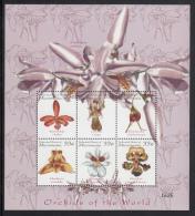 Micronesia MNH Scott #366 Sheet Of 6 33c Orchids Of The World - Micronésie