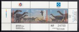 Micronesia MNH Scott #199 Sheet Of 3 Dinosaurs - Philakorea '94 - Micronésie