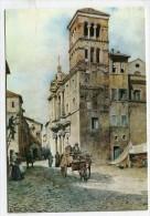 """ITALY - AK 179108 Roma - Museo Di Roma - """"Roma Soartia"""" Di E. Roesler Franz - Maria In Monticelli - Museums"""