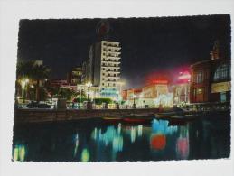 BARI - Lungomare - Notturno - 1969 - Bari