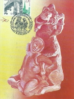RHONE ALPES - 69 - RHONE - VILLEFRANCHE SUR SAONE - Premier Jour 1990 - Congrès Des Sociétés Philathélistes - Cartoline Maximum