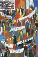 ILE DE FRANCE - 75 - PARIS - Centenaire Du Premier Mai 1990 - Cartoline Maximum