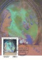 AQUITAINE - 33 - GIRON - BORDEAUX - Odilon REDON Profil De Femme Premier Jour 1990 - Cartoline Maximum