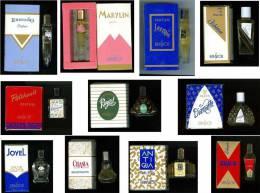Lot De 11 Miniatures BRINSDOR, Avec Boites - Réf, 141 - Parfums & Beauté