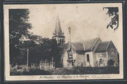- CPA 29 - Saint-Maudez, Le Calvaire Et Le Clocher - RARE - France