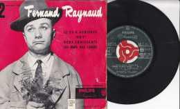 Années 1960 - 45 Tours - Fernand Raynaud - Le 22 à Asnière - Dry - Deux Croissant - Les Oeufs Pas Cassés - TBE - Vinyles